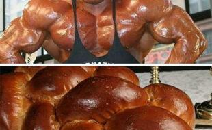 Origem do formato de pão