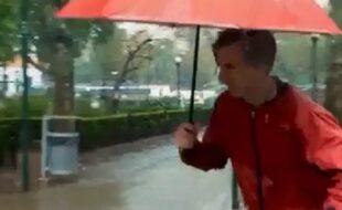 O mistério do desaparecimento na chuva