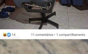 Vendendo cadeira gamer