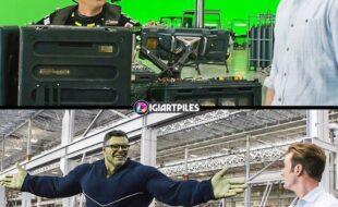 Efeitos de cinema antes e depois parte 2