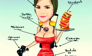 A mulher perfeita segundo a internet