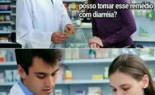 Tomando aquele remédio