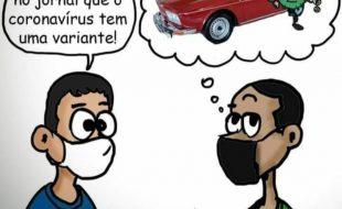 Nova variante do coronavírus